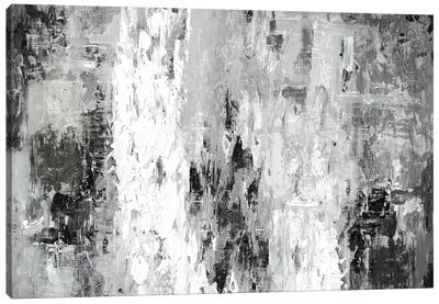 Black And White Abstract IV Canvas Art Print