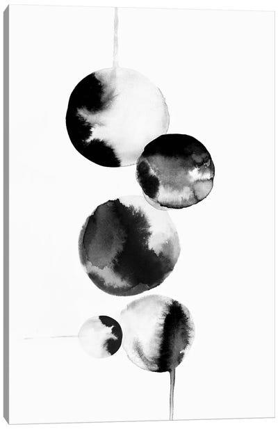 Dripping Bubbles I  Canvas Art Print