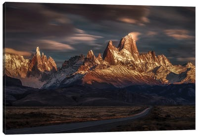 Patagonia Sky In Motion Canvas Art Print