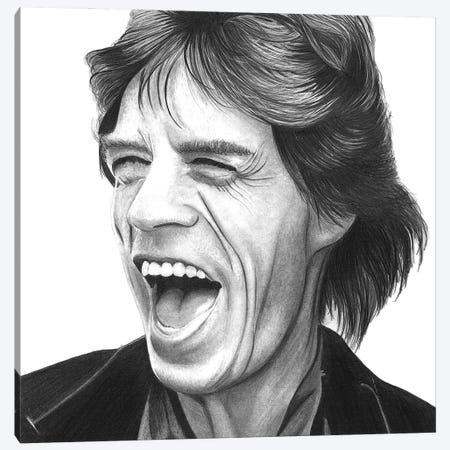 Mick Canvas Print #PSW10} by Paul Stowe Canvas Wall Art