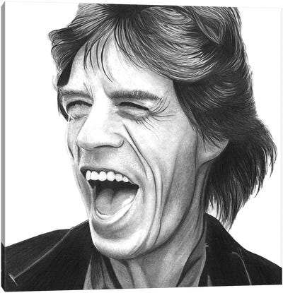 Mick Canvas Art Print