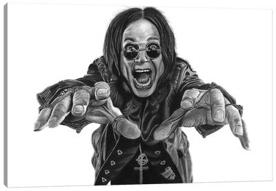 Ozzy Canvas Art Print