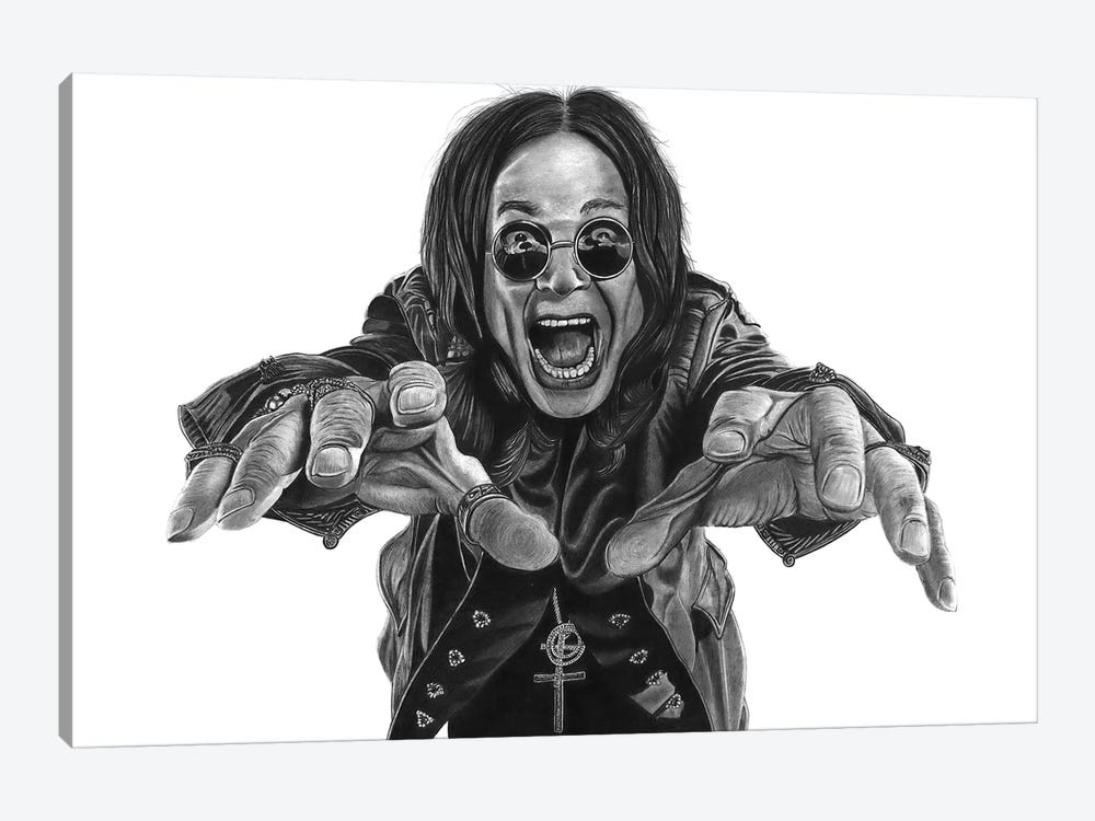 Ozzy by Paul Stowe 1-piece Canvas Print