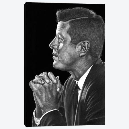 JFK Canvas Print #PSW14} by Paul Stowe Canvas Print