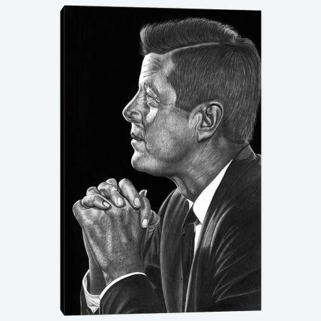 JFK Canvas Print #PSW14} by Paul Stowe Canvas Print