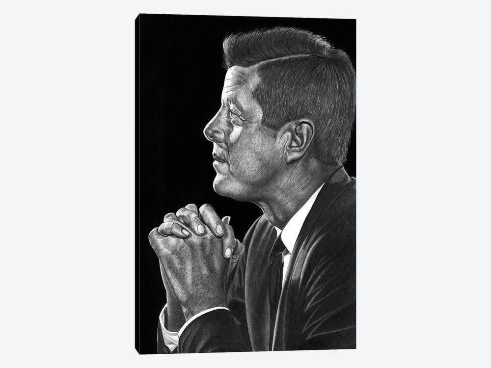 JFK by Paul Stowe 1-piece Canvas Print