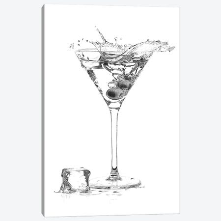 Martini Splash Canvas Print #PSW20} by Paul Stowe Canvas Print