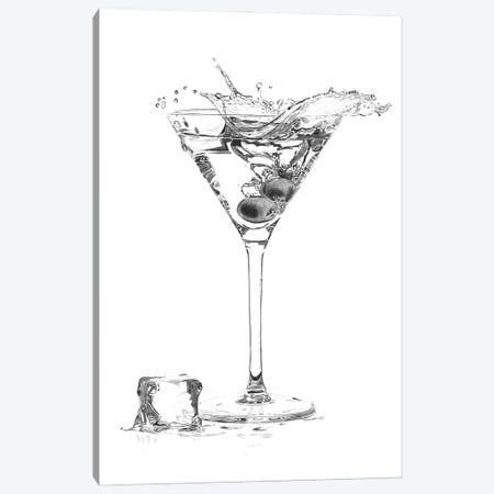 Martini Splash Canvas Print #PSW20} by Paul Stowe Canvas Print