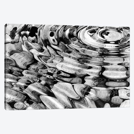 Rock Pool Ripples Canvas Print #PSW29} by Paul Stowe Canvas Art Print