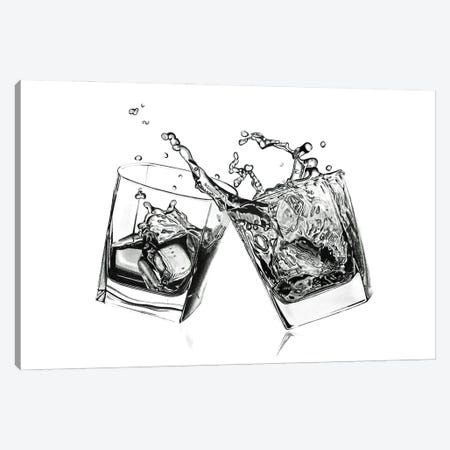 Whisky Cheers Canvas Print #PSW2} by Paul Stowe Canvas Art Print