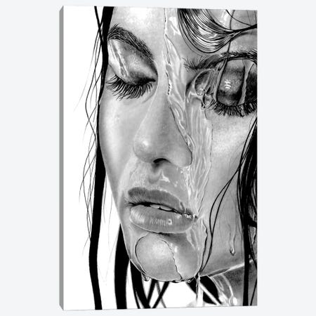 Wet XVIII Canvas Print #PSW33} by Paul Stowe Canvas Artwork