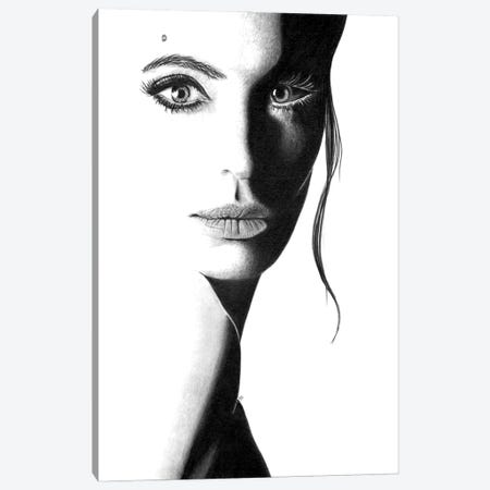 Angie Canvas Print #PSW34} by Paul Stowe Canvas Print