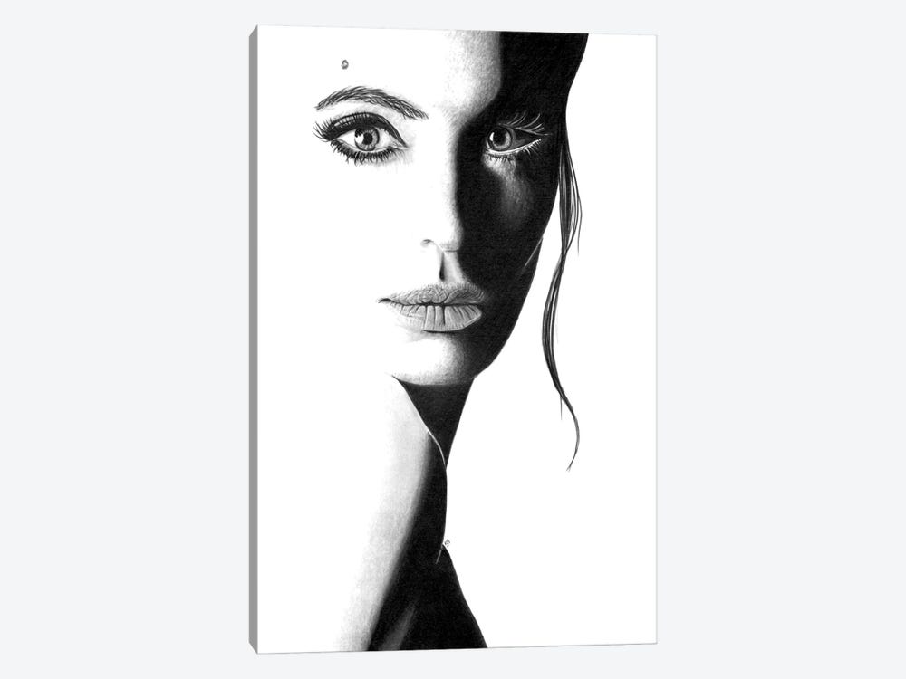 Angie by Paul Stowe 1-piece Canvas Art Print