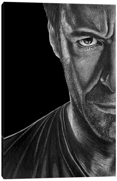Hugh Canvas Art Print