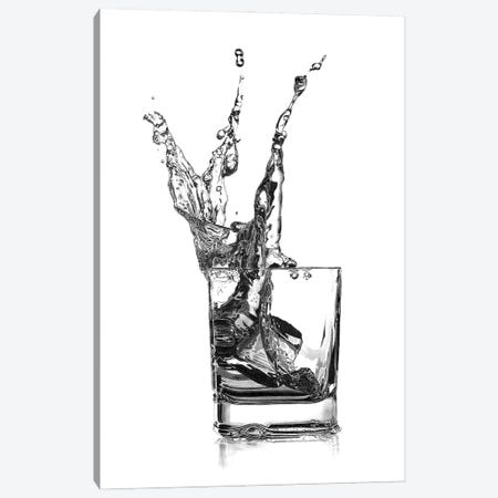 Double Whisky Splash Canvas Print #PSW44} by Paul Stowe Canvas Artwork