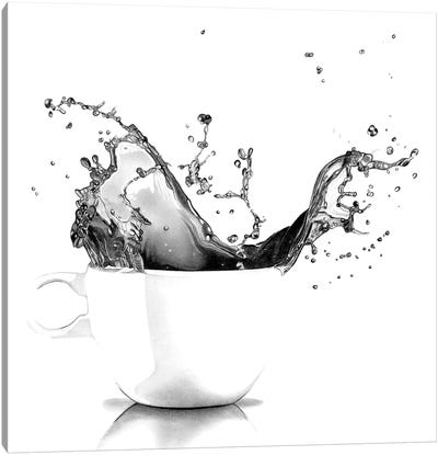 Tea Splash Canvas Art Print