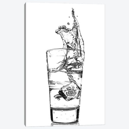 Water Splash Canvas Print #PSW6} by Paul Stowe Canvas Artwork