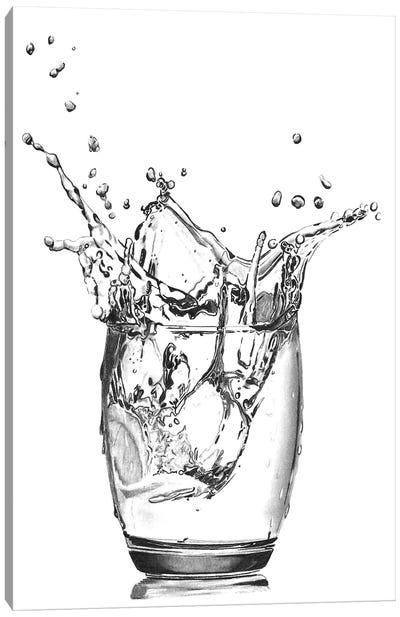 Vodka Ice Canvas Art Print