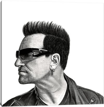 Bono Canvas Art Print