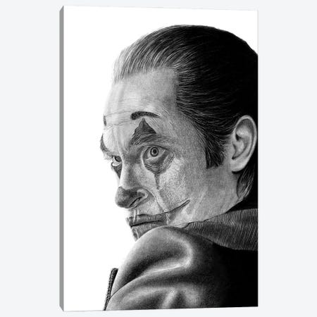 Joker Canvas Print #PSW9} by Paul Stowe Canvas Art Print
