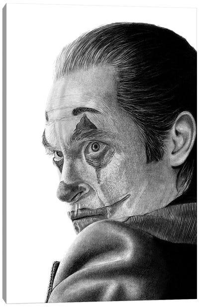 Joker Canvas Art Print
