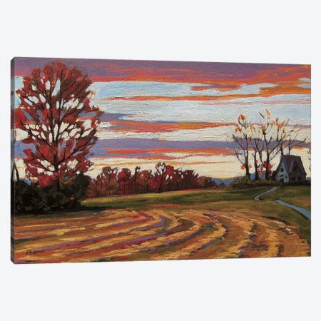 Poets Walk Landscape 3-Piece Canvas #PTB107} by Patty Baker Canvas Art Print