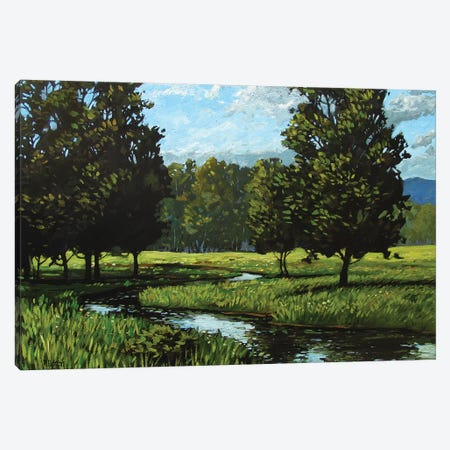 Spring Landscape Near Golden, CO Canvas Print #PTB127} by Patty Baker Canvas Print