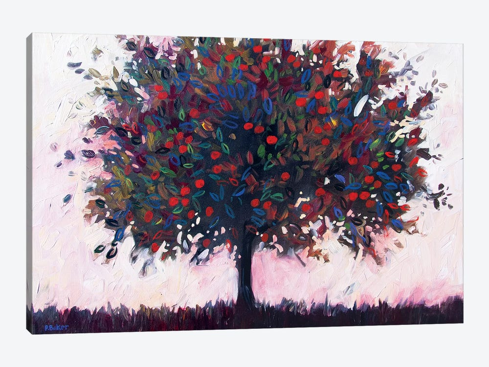 Apple Tree by Patty Baker 1-piece Canvas Art