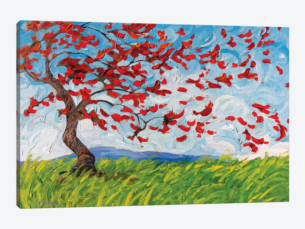 Blustery Day by Patty Baker 1-piece Canvas Print