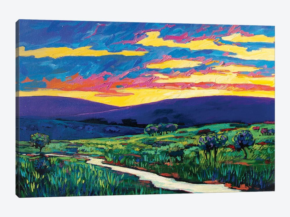 Bouler County Landscape by Patty Baker 1-piece Canvas Artwork