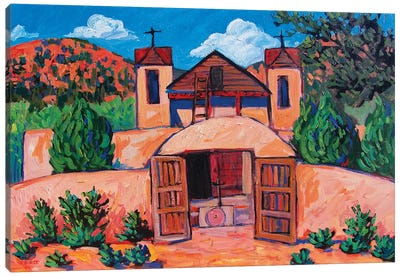 El Santuario de Chimayo, New Mexico Canvas Art Print