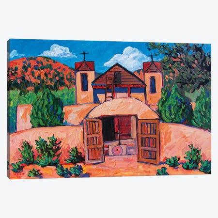 El Santuario de Chimayo, New Mexico Canvas Print #PTB182} by Patty Baker Canvas Artwork