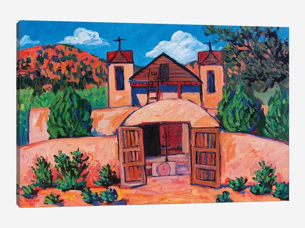 El Santuario de Chimayo, New Mexico by Patty Baker 1-piece Canvas Art Print