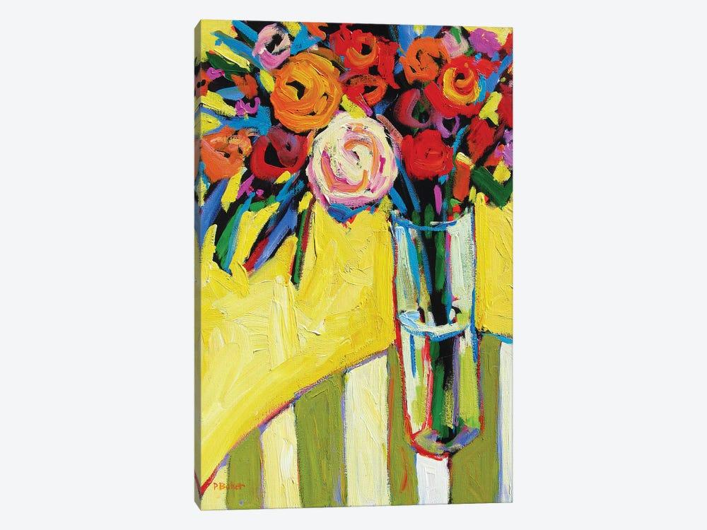 Floral  by Patty Baker 1-piece Canvas Art Print