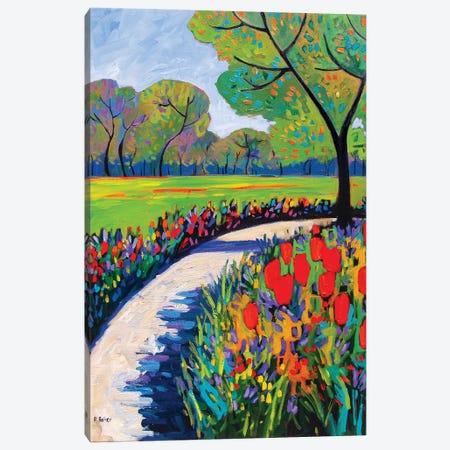 Garden Path IV Canvas Print #PTB192} by Patty Baker Art Print