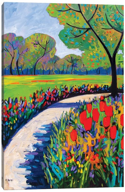 Garden Path IV Canvas Art Print