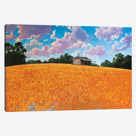 Landscape Under Purple Clouds Canvas Print #PTB198} by Patty Baker Art Print