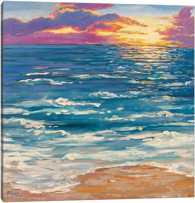 Montauk Sunrise Canvas Art Print