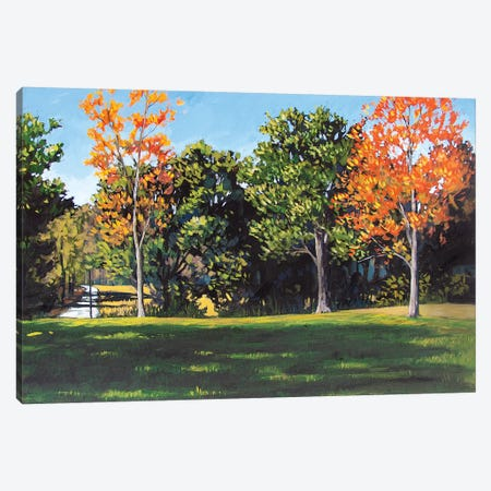 Park Landscape Canvas Print #PTB201} by Patty Baker Canvas Art Print