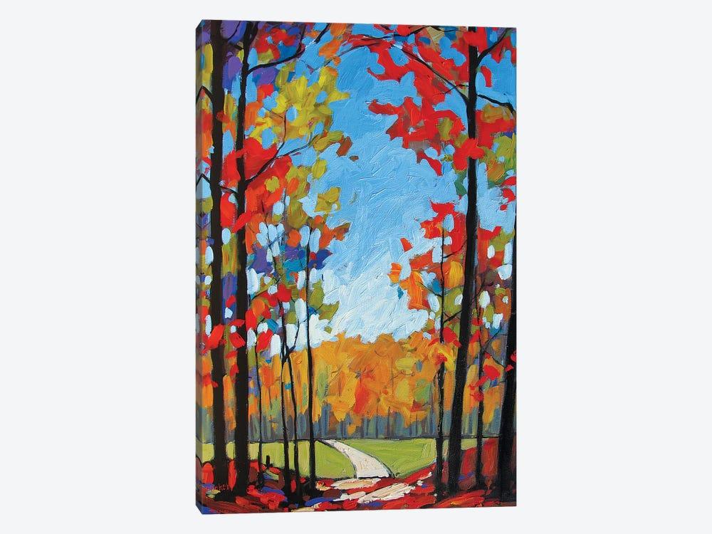 Path Near Old Kinderhook by Patty Baker 1-piece Canvas Print