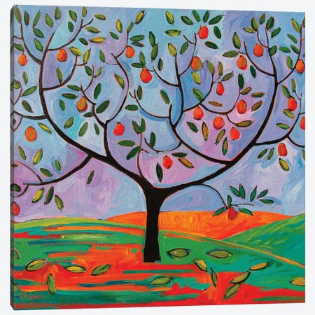 Pear Tree Canvas Print #PTB203} by Patty Baker Canvas Print