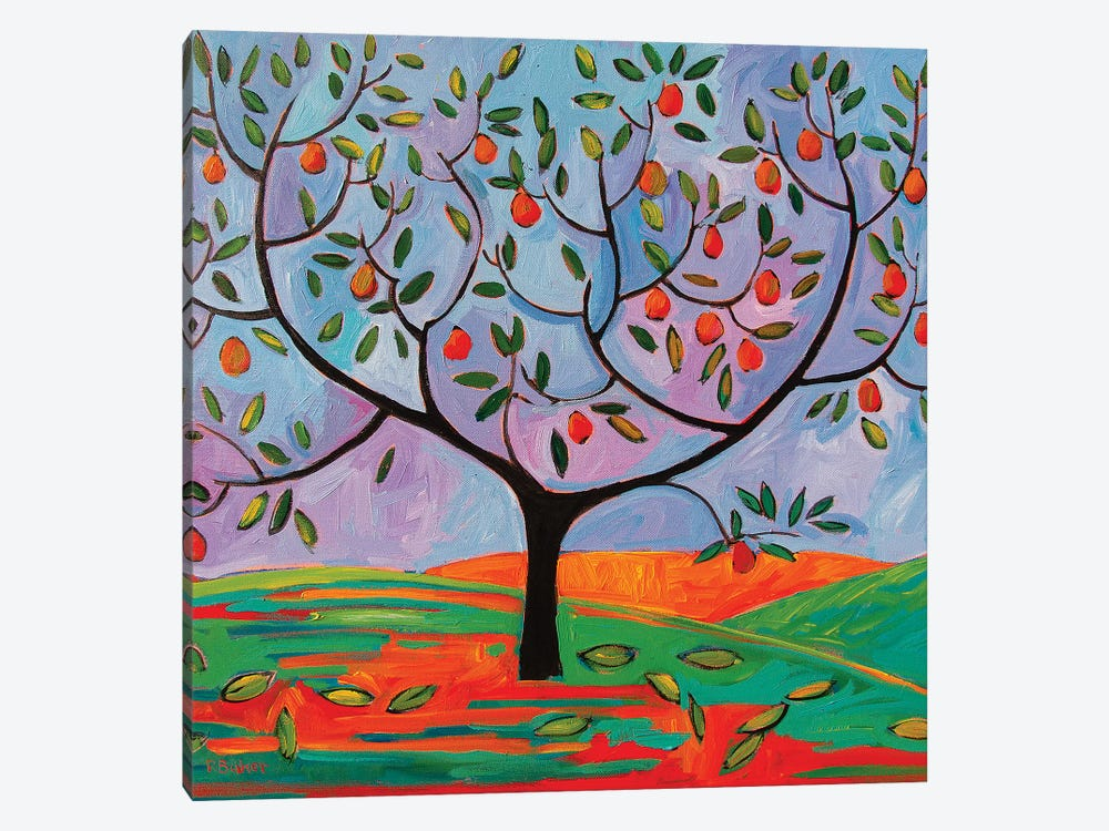 Pear Tree by Patty Baker 1-piece Canvas Art
