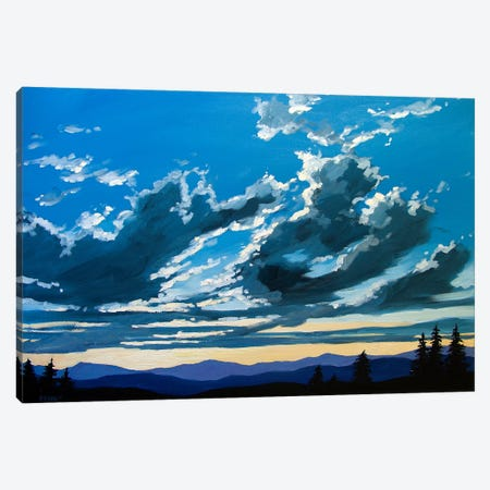 Big Sunset Sky over the Foothills Canvas Print #PTB20} by Patty Baker Art Print