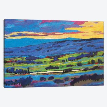 Boulder Valley Sunset  Canvas Print #PTB25} by Patty Baker Canvas Wall Art
