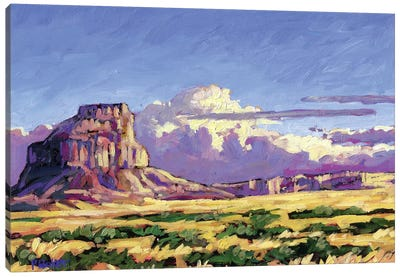 Fajada Butte, Chaco Canyon, New Mexico Canvas Art Print