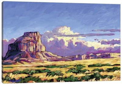 Fajada Butte, Chaco Canyon, New Mexico Canvas Art Print