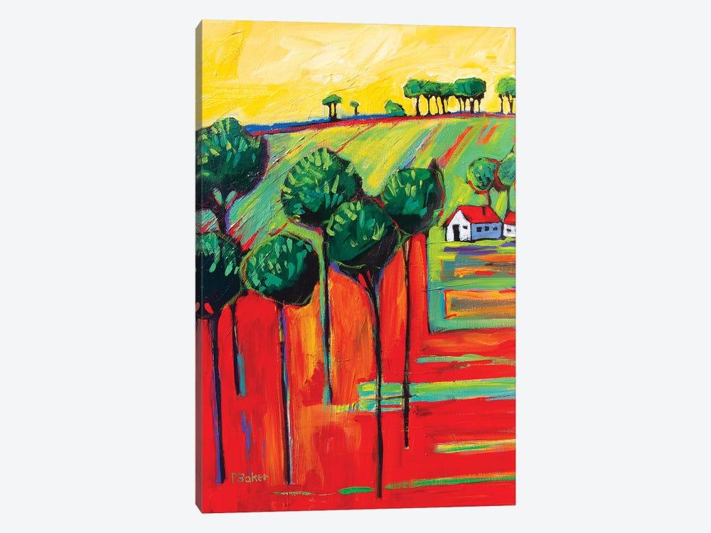 Fauve Landscape II by Patty Baker 1-piece Art Print