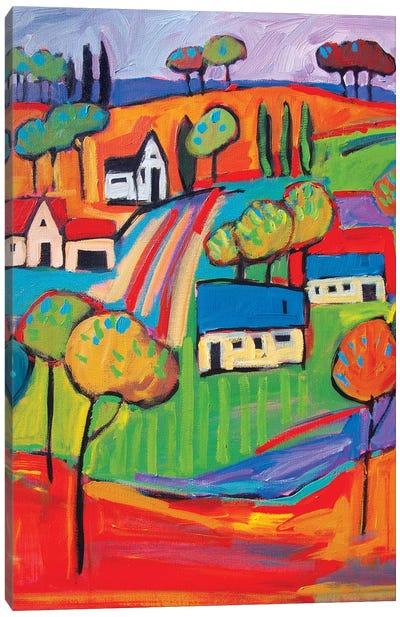 Fauve Landscape III Canvas Art Print