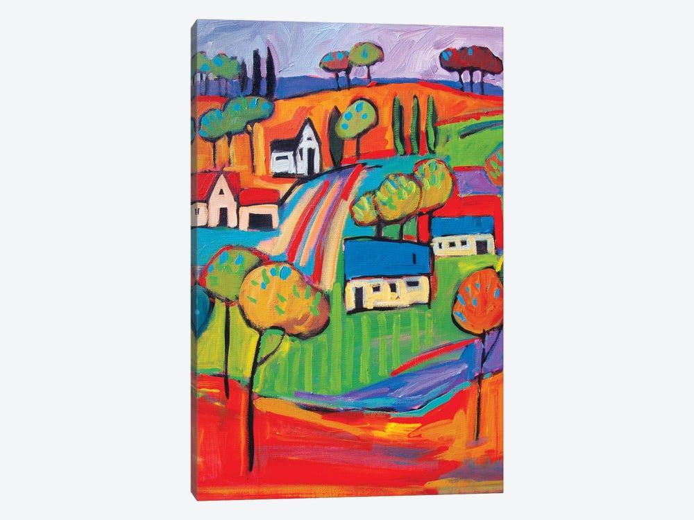 Fauve Landscape III by Patty Baker 1-piece Canvas Art