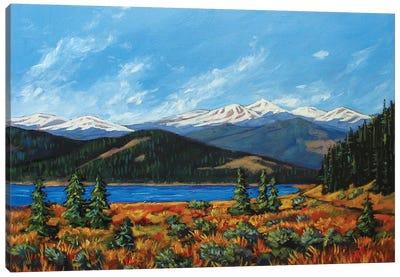 Mount Evans, Colorado Canvas Art Print